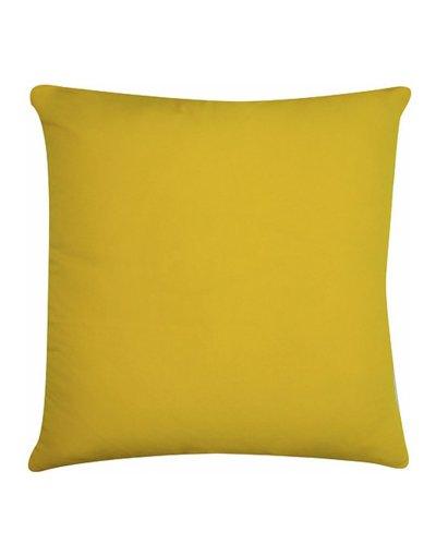 Kazadosofa Microfibra amarelo liso