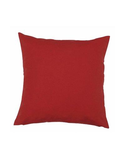Kazadosofa Microfibra vermelho liso