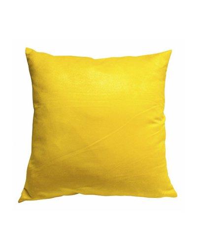 Kazadosofa Suede liso  amarelo