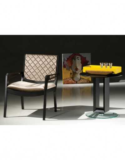 Mesa de Canto Lateral Graziela Black Big